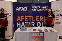 AFAD 'Afetlere Hazır Olmak' çalışmaları kapsamında vatandaşları bilgilendiriyor