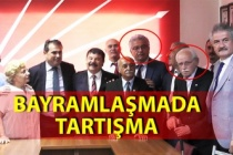 CHP'nin bayramlaşma töreninde tartışma çıktı