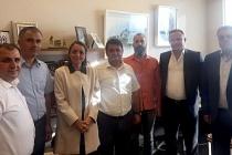 GMİS'den Cumhurbaşkanlığı Başdanışmanı Oruç'a ziyaret