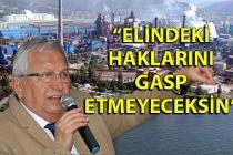 Halil Posbıyık: ''Eğer inat ederlerse, halkı peşime takarım''