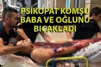 İlçe başkanının kardeşi bıçaklandı...