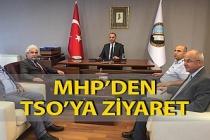 MHP'den TSO'ya ziyaret