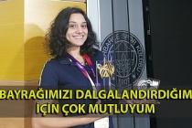 """Milli atletizm sporcusu Melike Malkoç: """"Bayrağımızı dalgalandırdığım için çok mutluyum"""""""