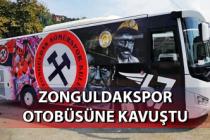 Zonguldakspor, otobüsüne kavuştu...