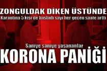Zonguldak'ta Corona virüsü alarmı...