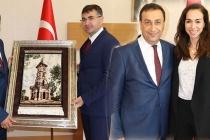 Müsteşar Yardımcısı İsmail Yücel'den Elif Acar'a ziyaret