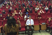 Suat Turgut öğrencilerle buluştu