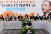 Tanıtım ve Medya başkanları Samsun'da toplantı