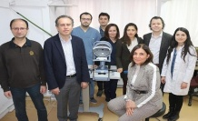 BEÜ 'Kornea Naklinde' başarılı işlere imza atıyor