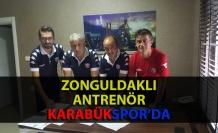 Zonguldaklı antrenör Karabükspor'a imza attı