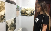 'Kömür kentin izleri' sergisi açıldı