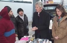 Cengiz Bank, pazar yeri esnafının sorunlarını dinledi...