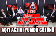 Şenol Şanal CANLI yayında soruları yanıtladı