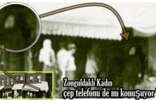 1940´da çep telefonu ile konuşan Zonguldaklı