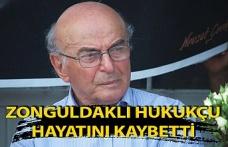 Zonguldaklı hukukçu hayatını kaybetti