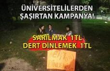 Öğrencilerden şaşırtan kampanya