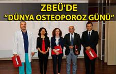 """ZBEÜ'de """"Dünya Osteoporoz Günü"""""""