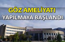 Devrek Devlet Hastanesinde göz ameliyatı yapılmaya başlandı