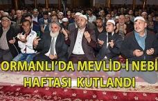 Ormanlı'da Mevlid-i Nebi Haftası programla kutlandı