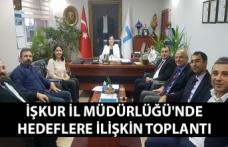 Zonguldak İŞKUR İl Müdürlüğü'nde hedeflere ilişkin değerlendirme toplantısı