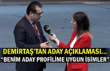 """Demirtaş'tan aday açıklaması… """"Benim aday profilime uygun isimler """""""