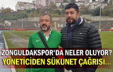 Zonguldakspor'da neler oluyor? Yöneticiden sükunet çağrısı...