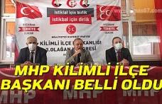 MHP Kilimli İlçe Başkanı belli oldu