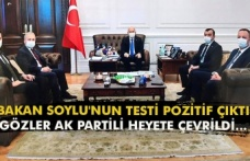 Bakan Soylu'nun testi pozitif çıktı gözler AK Partili heyete çevrildi...
