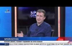 10 Ocak 2019 Sporvizyon Basketbol altyapı hocaları Bölüm 1