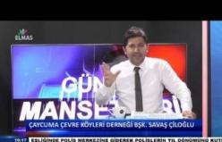 Çaycuma Çevre Köyleri Kalkındırma Derneği Başkanı Savaş Çiloğlu telefon bağlantısı