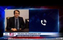 Hakan Kutoğlu'ndan Fevkani Köprüsü yıkılmalı mı, onarılmalı mı açıklaması...