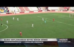 Kahramanmaraşspor - Zonguldak Kömürspor Maçın Geniş Özeti