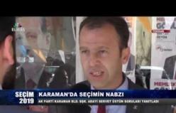 Seçim 2019 Karaman Belediye Başkan Adayı Servet Üstün