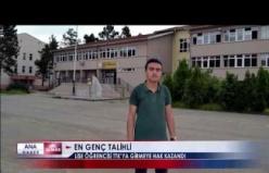 TTK kurasından çıkan en genç isim... Henüz lise öğrencisi