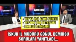 21 Mart 2019 Artı Eksi İŞKUR Zonguldak İl Müdürü Gönül Demirsu