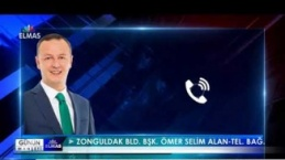 Zonguldak Belediye Başkanı Ömer Selim Alan tel. bağ.