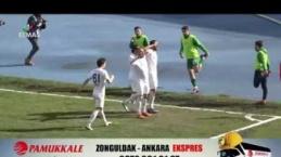 Zonguldakspor - Kırklarelispor maç özeti