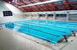Yarı olimpik yüzme havuzu yetişkinlere de kapılarını...