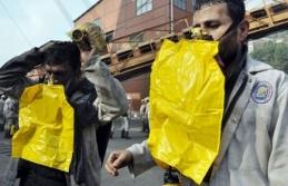'Oksijenli ferdi kurtarıcı maske'