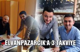 Elvanpazarcık'a 3 takviye