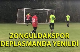 Zonguldakspor deplasmanda yenildi