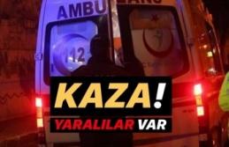 Trafik kazası: Yaralılar var!..