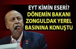 EYT kimin eseri? Dönemin bakanı Zonguldak yerel...