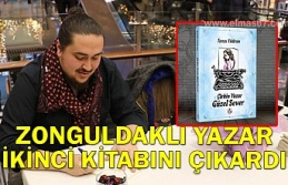 Zonguldaklı yazar ikinici kitabını çıkardı