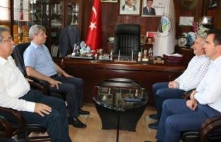Vali Çınar, ziyaretlerine Kozlu'da devam etti...