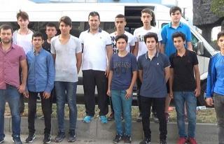 Zonguldaklı gençler Kastamonu yolunda...