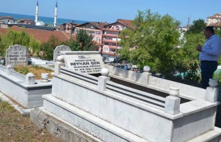 Başkan Nuri Tekin'den bayram öncesi mezarlık denetimi...