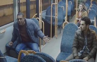 Alkollü şahıs otobüsü birbirine kattı... İşte...