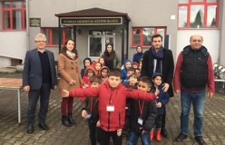Kilimli Anaokulu, Madencilik Ürünleri Sergisi'ni...