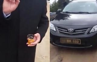 Belediye Başkanı ormanda makam arabasıyla alkol...